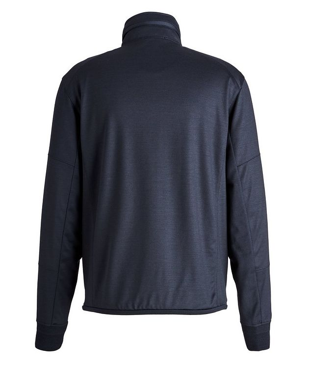 High Performance Hooded Stretch-Wool Sweatshirt picture 2