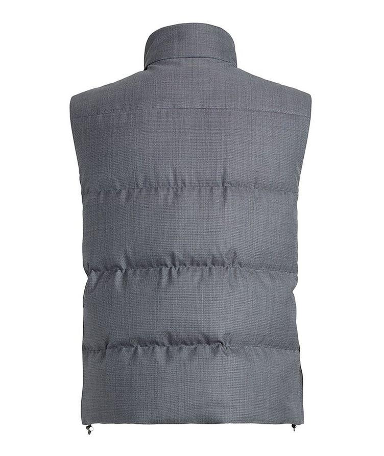 Achillfarm Wool-Silk Down Vest image 1