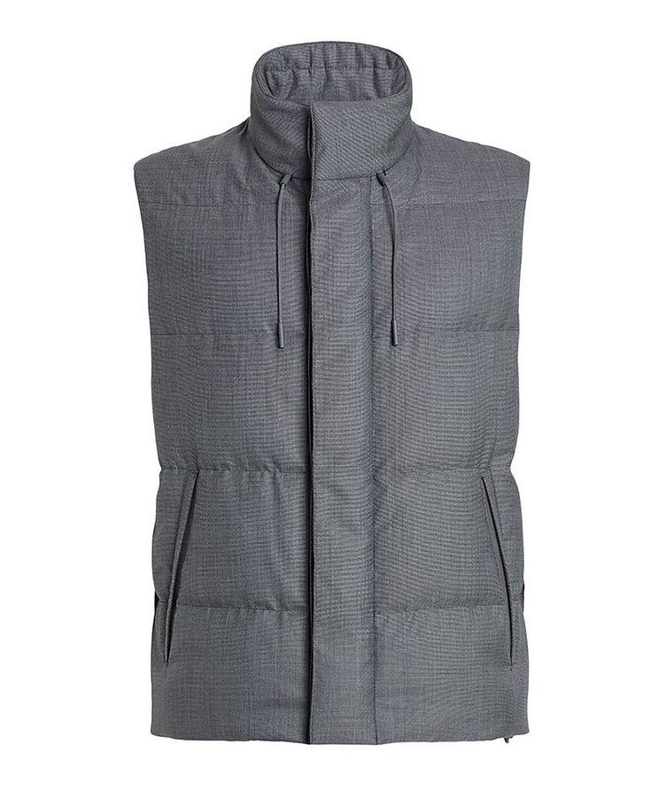 Achillfarm Wool-Silk Down Vest image 0