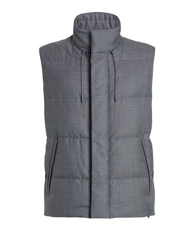 Achillfarm Wool-Silk Down Vest picture 1
