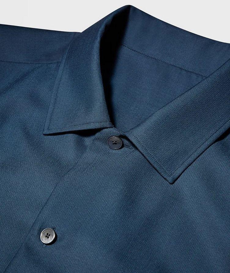 Achillfarm Wool-Silk Blouson Sports Jacket image 1