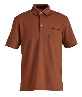 Ermenegildo Zegna Piqué Cotton Polo
