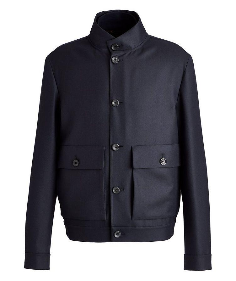 Couture Centoventimila Wool Blouson Jacket image 0