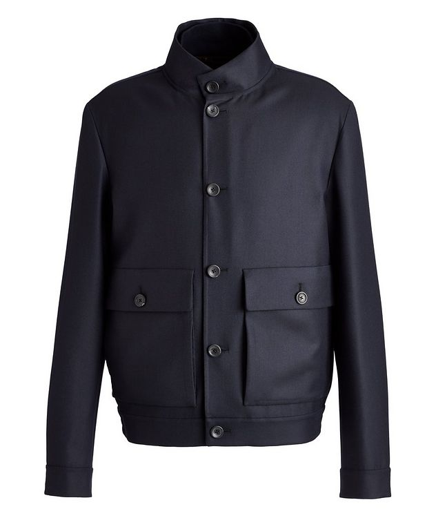 Couture Centoventimila Wool Blouson Jacket picture 1