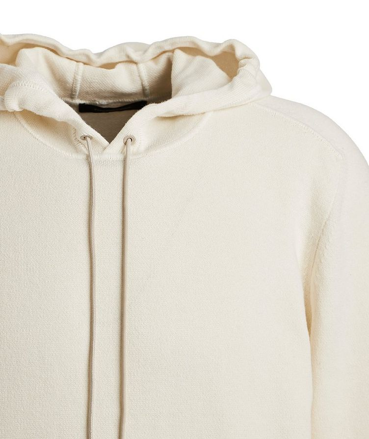 Cotton & Cashmere Knit Hoodie image 1