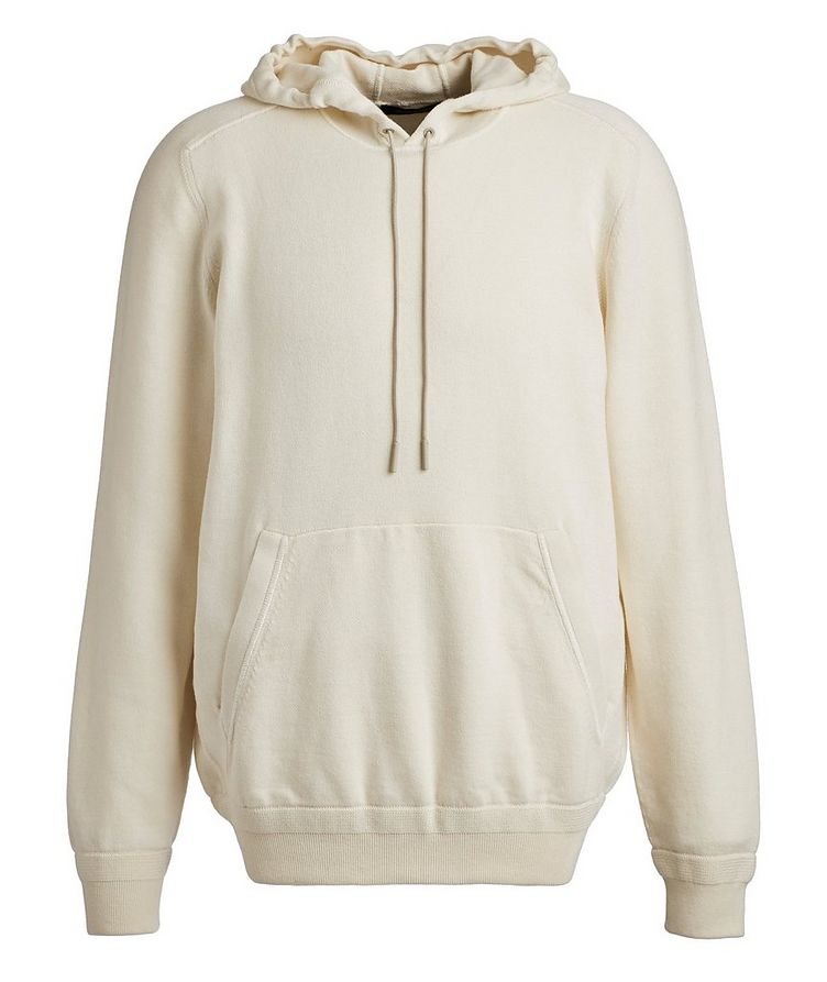 Cotton & Cashmere Knit Hoodie image 0