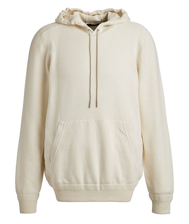 Cotton & Cashmere Knit Hoodie picture 1