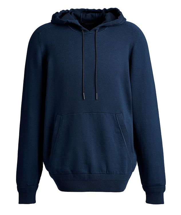 Cotton-Cashmere Hoodie picture 1