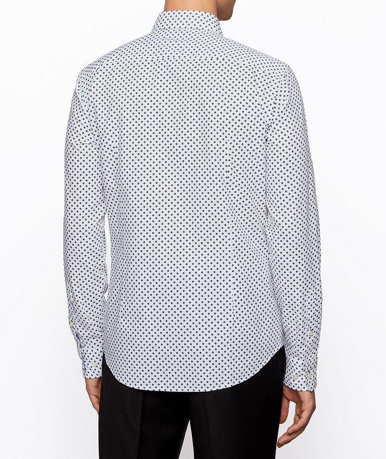 Slim-Fit Printed Cotton Shirt image 2