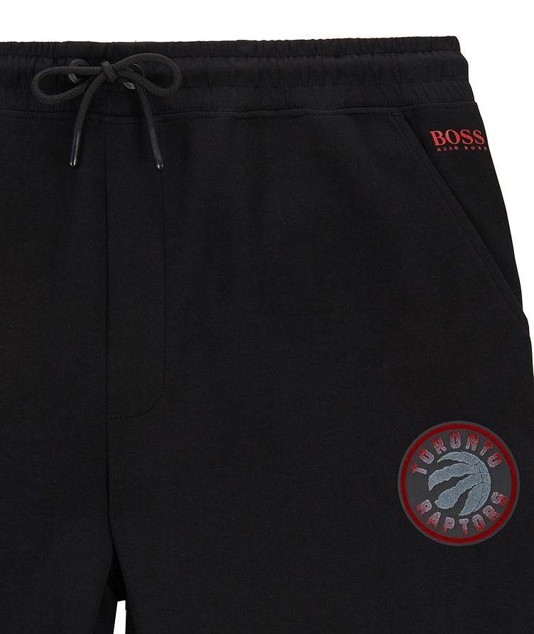 Pantalon sport en coton extensible, collection NBA image 1