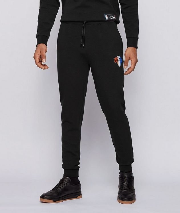 BOSS x NBA Stretch-Cotton Joggers picture 3