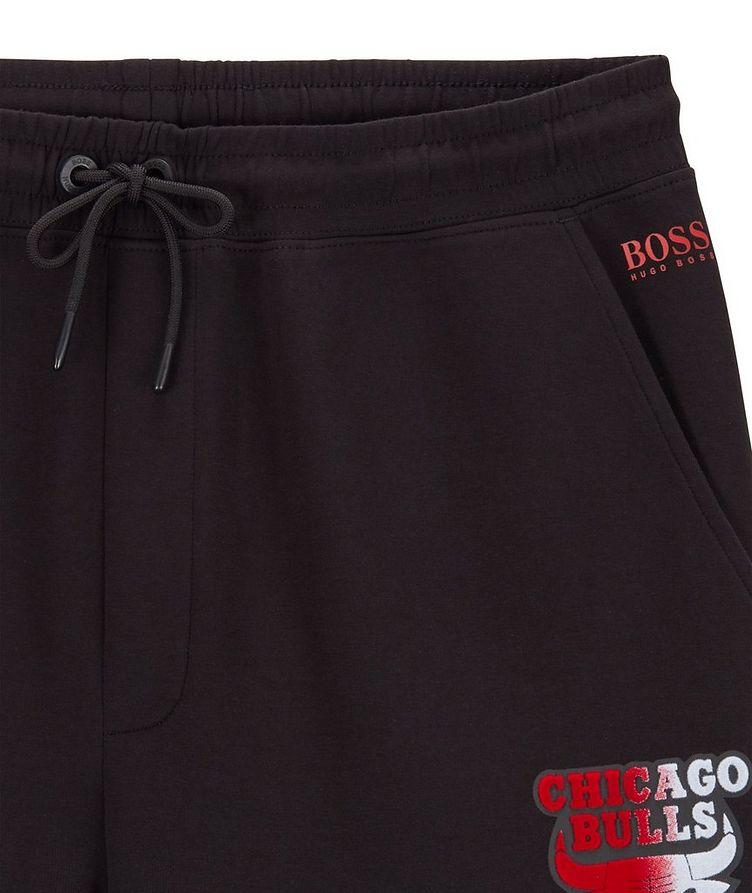 BOSS x NBA Stretch-Cotton Joggers image 1
