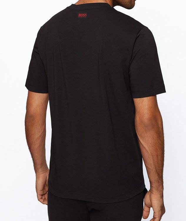 BOSS x NBA Printed Stretch-Cotton T-Shirt picture 3