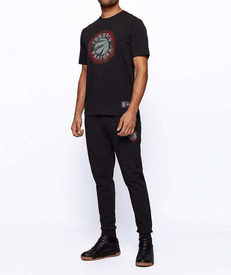 BOSS x NBA Printed Stretch-Cotton T-Shirt image 3