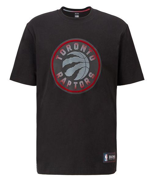 BOSS BOSS x NBA Printed Stretch-Cotton T-Shirt