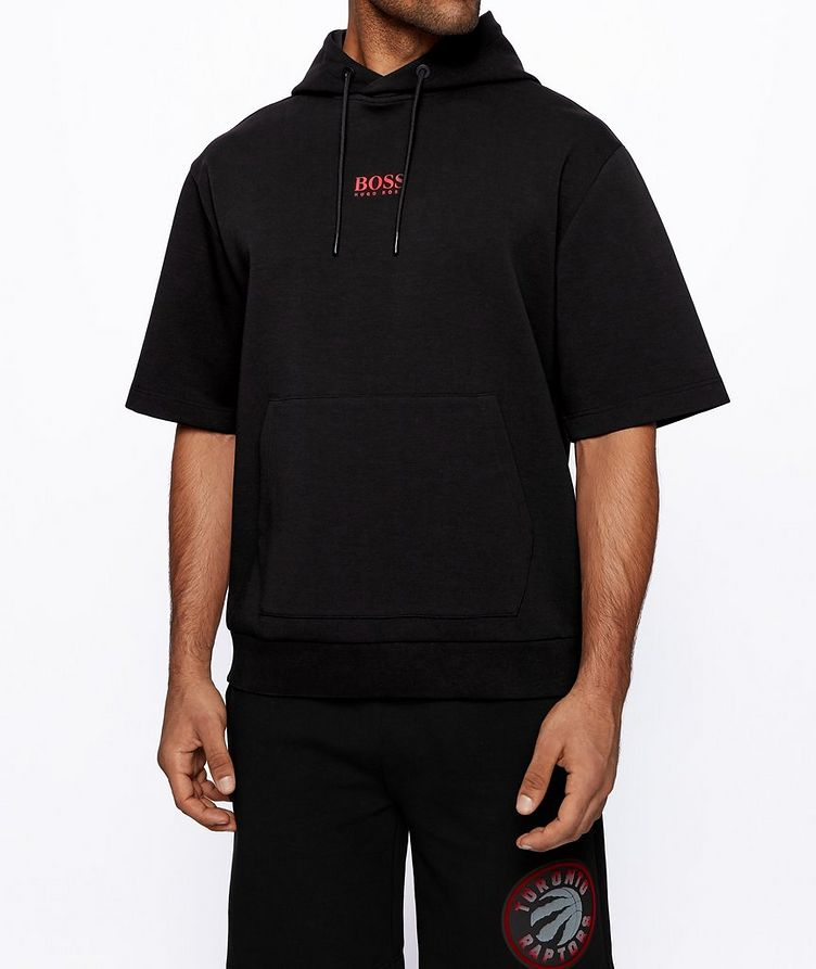 BOSS x NBA Short-Sleeve Hoodie image 1