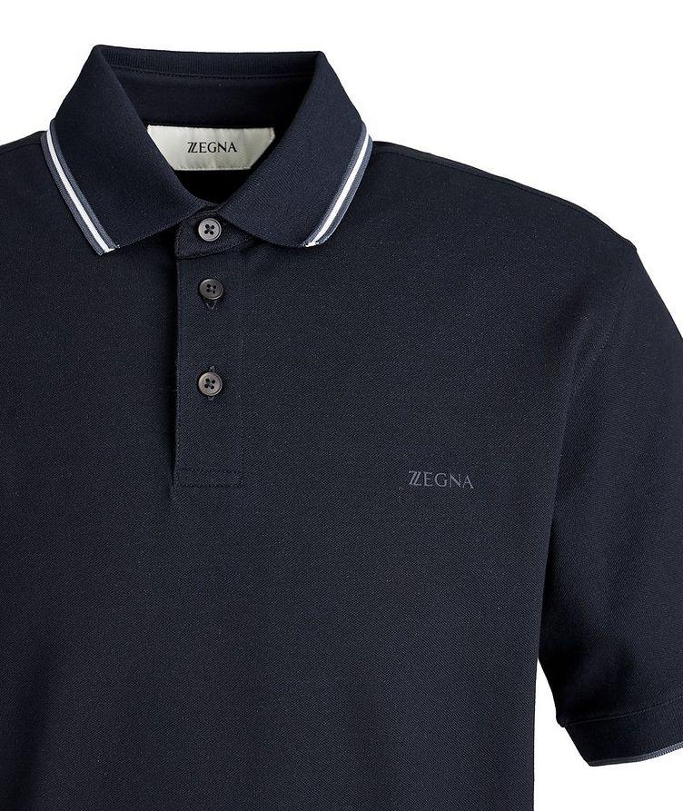 Piqué Stretch-Cotton Polo image 1