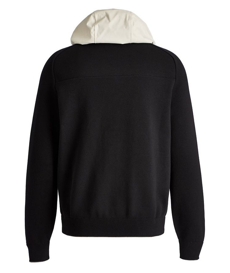 Recycled Cotton-Blend Hybrid Hoodie image 1
