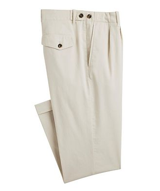Z Zegna Stretch-Cotton Chinos