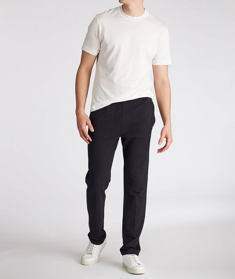 Cotton-Modal Joggers image 4