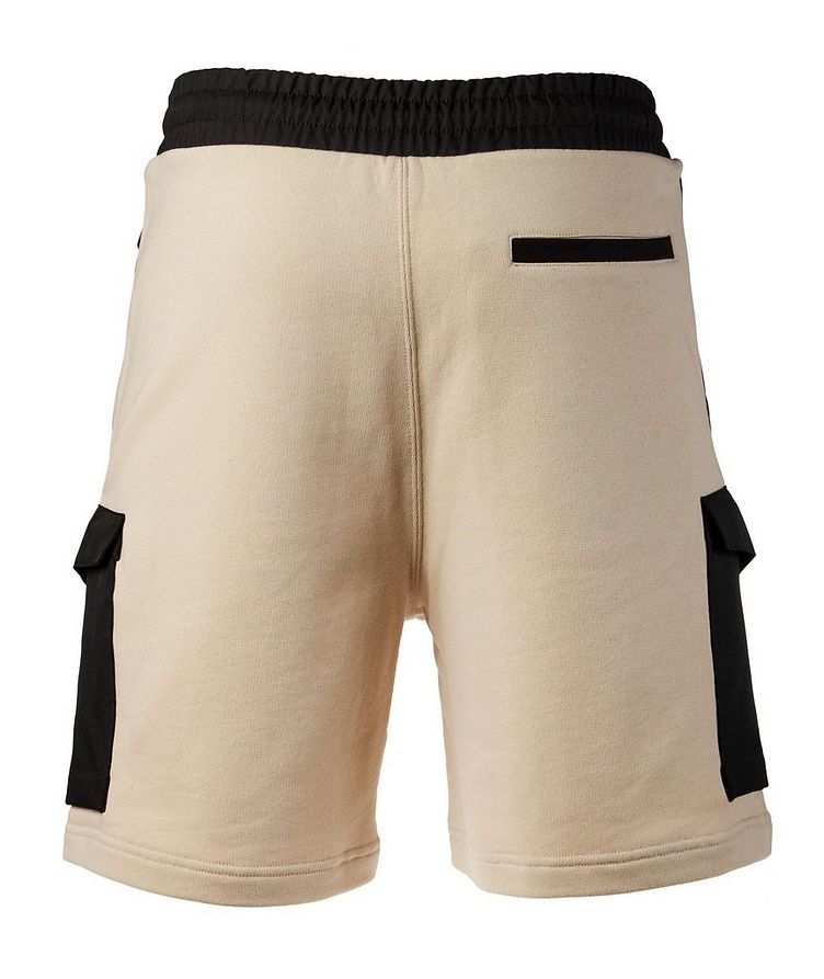 Cotton Drawstring Bermuda Shorts image 1