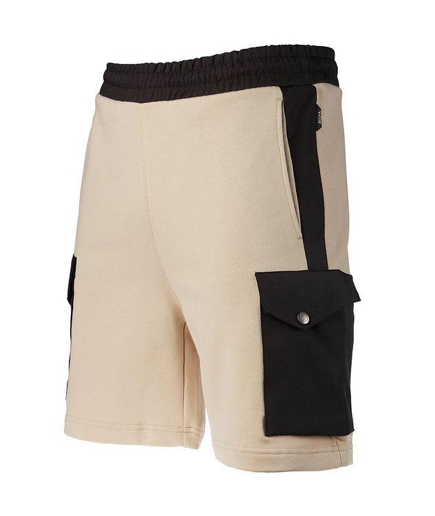 Cotton Drawstring Bermuda Shorts picture 3