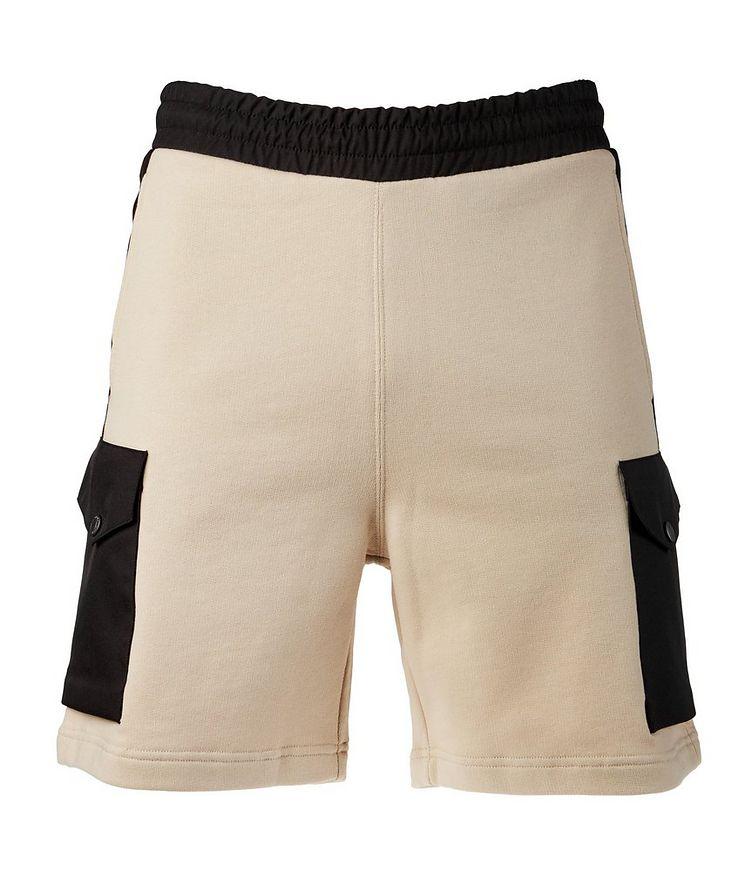 Cotton Drawstring Bermuda Shorts image 0