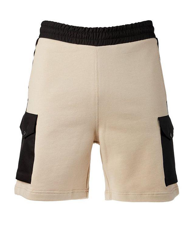 Cotton Drawstring Bermuda Shorts picture 1