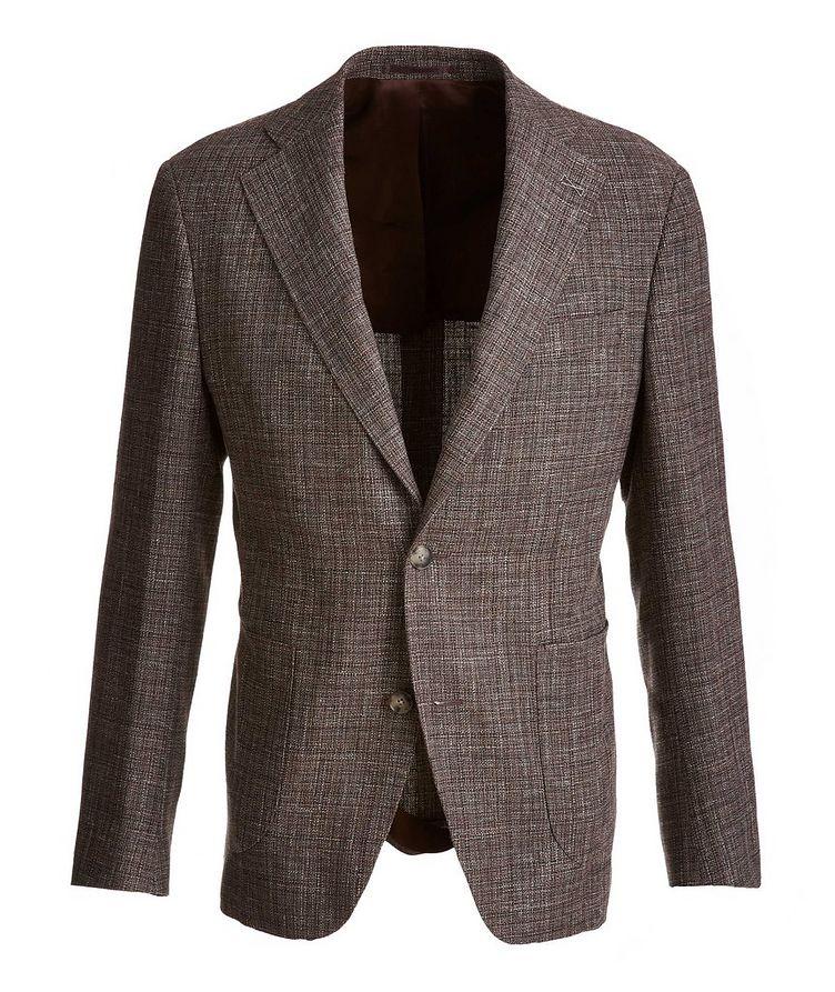 Open Weave Wool-Cotton-Linen Sport Jacket image 0