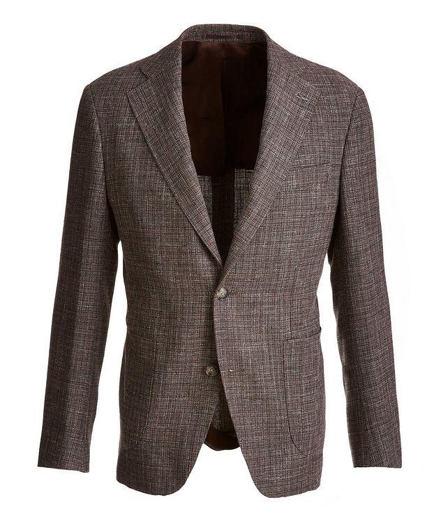 Open Weave Wool-Cotton-Linen Sport Jacket picture 1