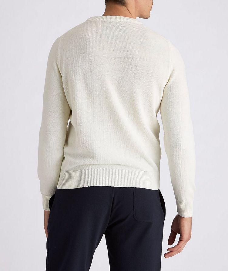 Knit Cotton-Blend Sweater image 2