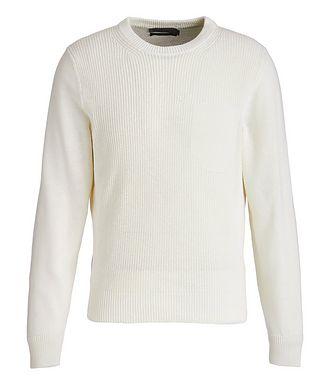 Canali Knit Cotton-Blend Sweater