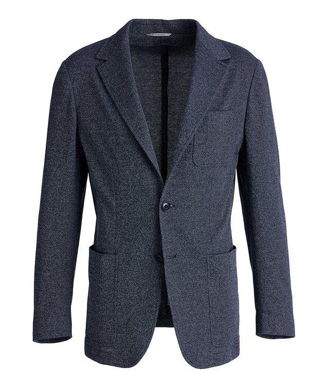 Unstructured Cotton-Blend Sports Jacket picture 1