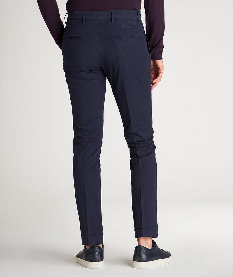 Patterned Slim Fit Stretch-Cotton Pants image 2