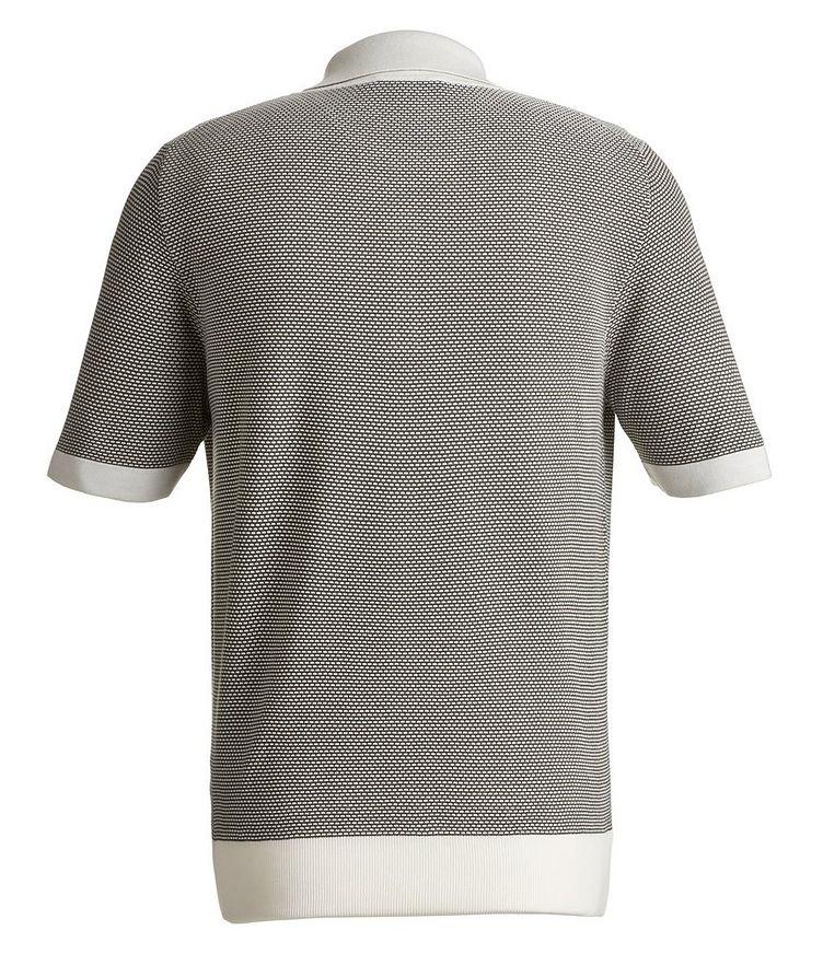 Knit Silk-Blend Polo image 1