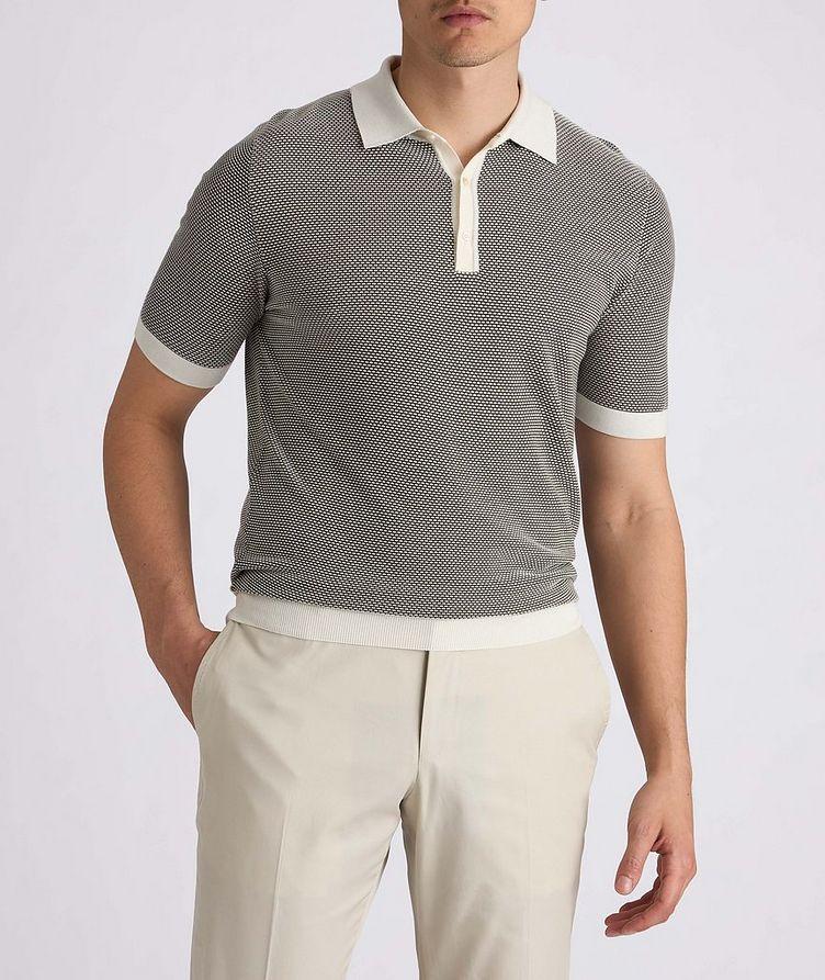 Knit Silk-Blend Polo image 3