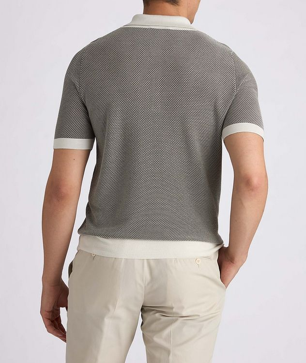 Knit Silk-Blend Polo picture 5
