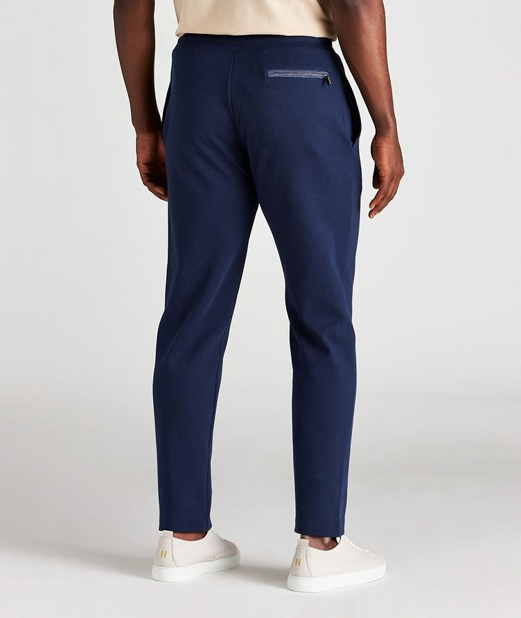 Drawstring Cotton-Blend Track Pants image 2