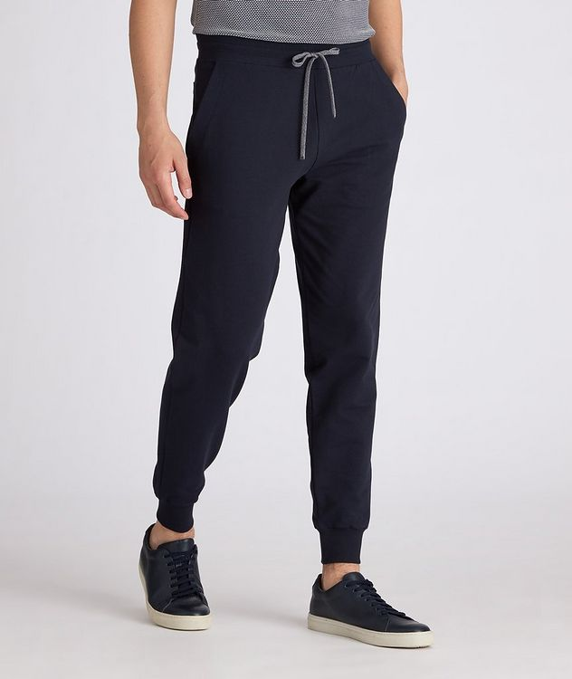 Cotton Jersey Drawstring Joggers picture 2