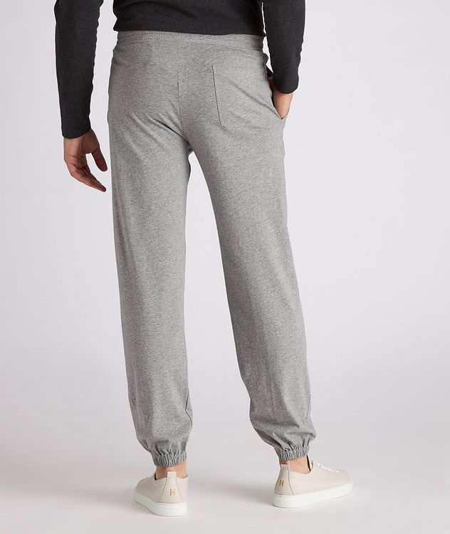Cotton Jersey Drawstring Joggers picture 3