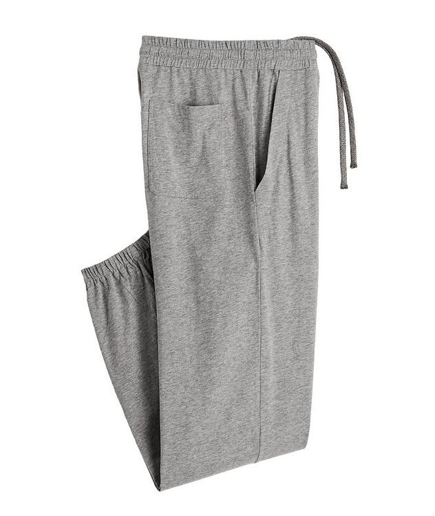 Cotton Jersey Drawstring Joggers picture 1