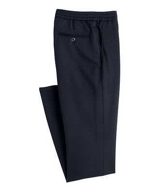 Canali Stretch-Cotton Drawstring Joggers