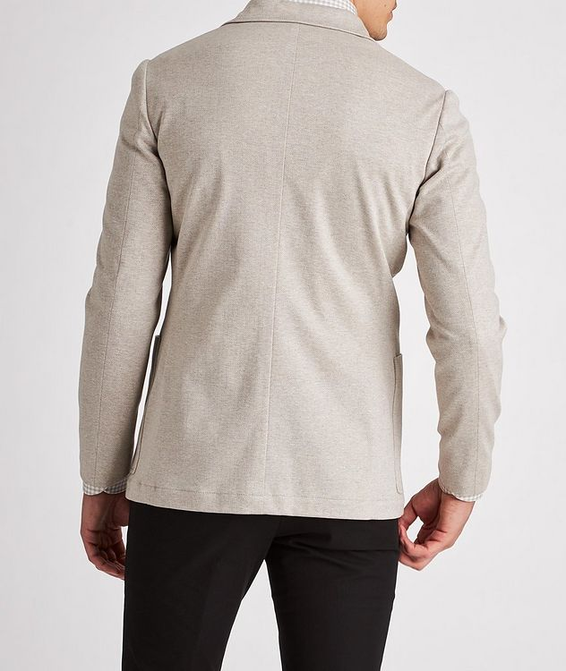 Unstructured Herringbone Cotton Sports Jacket picture 3