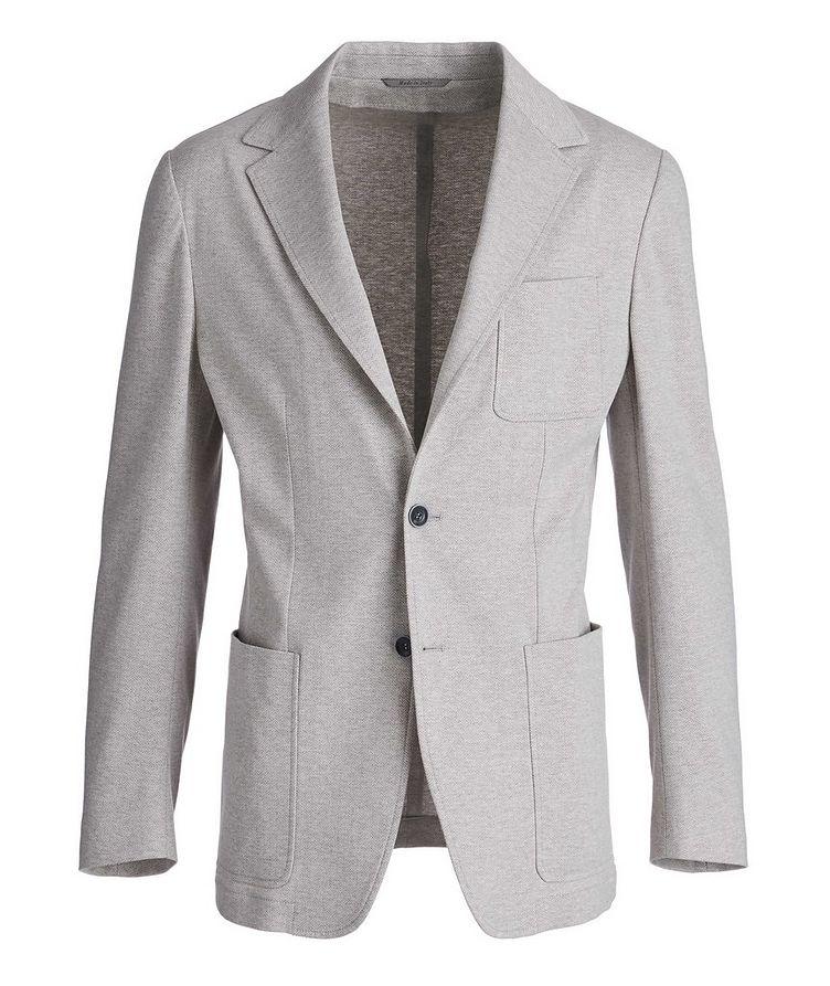 Unstructured Herringbone Cotton Sports Jacket image 0