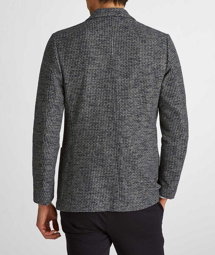 Cotton-Linen Broken Check Sports Jacket image 4