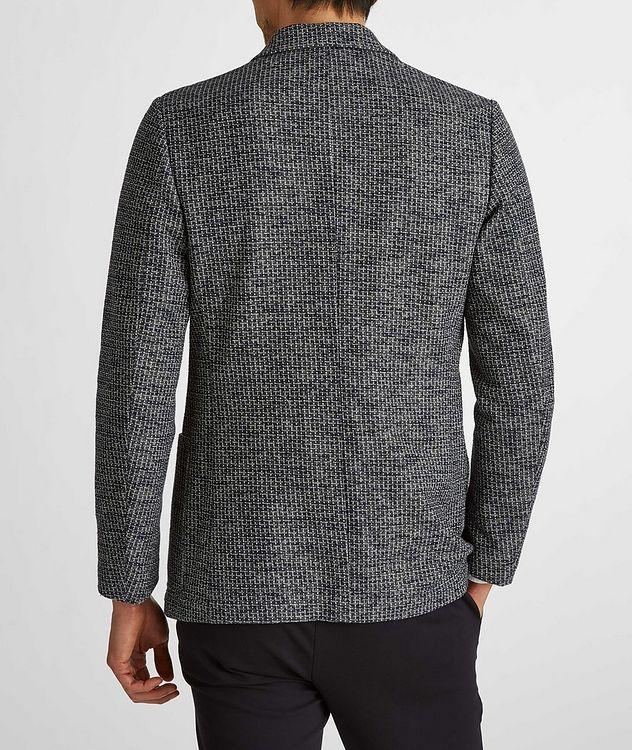 Cotton-Linen Broken Check Sports Jacket picture 5