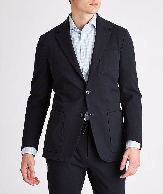 Stretch-Cotton Jersey Sport Jacket picture 2