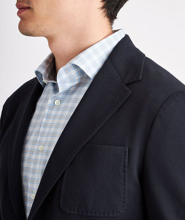Stretch-Cotton Jersey Sport Jacket picture 4