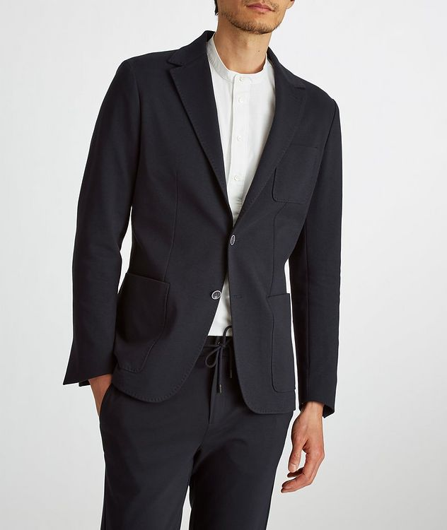 Stretch-Cotton Jersey Sport Jacket picture 7