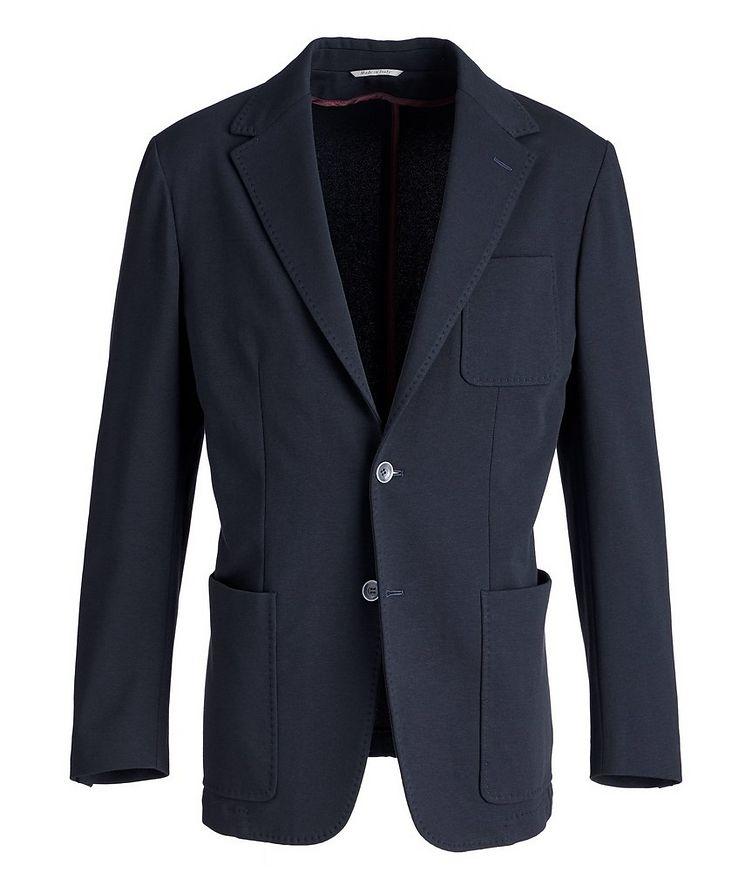 Stretch-Cotton Jersey Sport Jacket image 0
